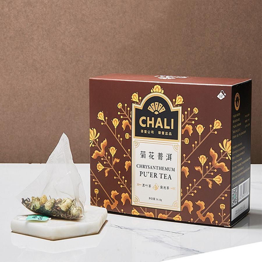 ChaLi茶里 菊花普洱茶 清淡火气组合花茶 内独立小包装12袋