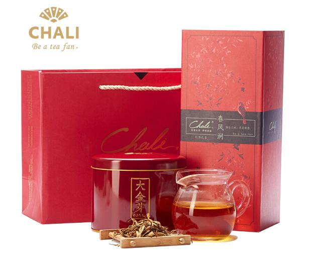 茶里(ChaLi)红茶礼盒 大金芽茶叶云南滇红茶叶一级