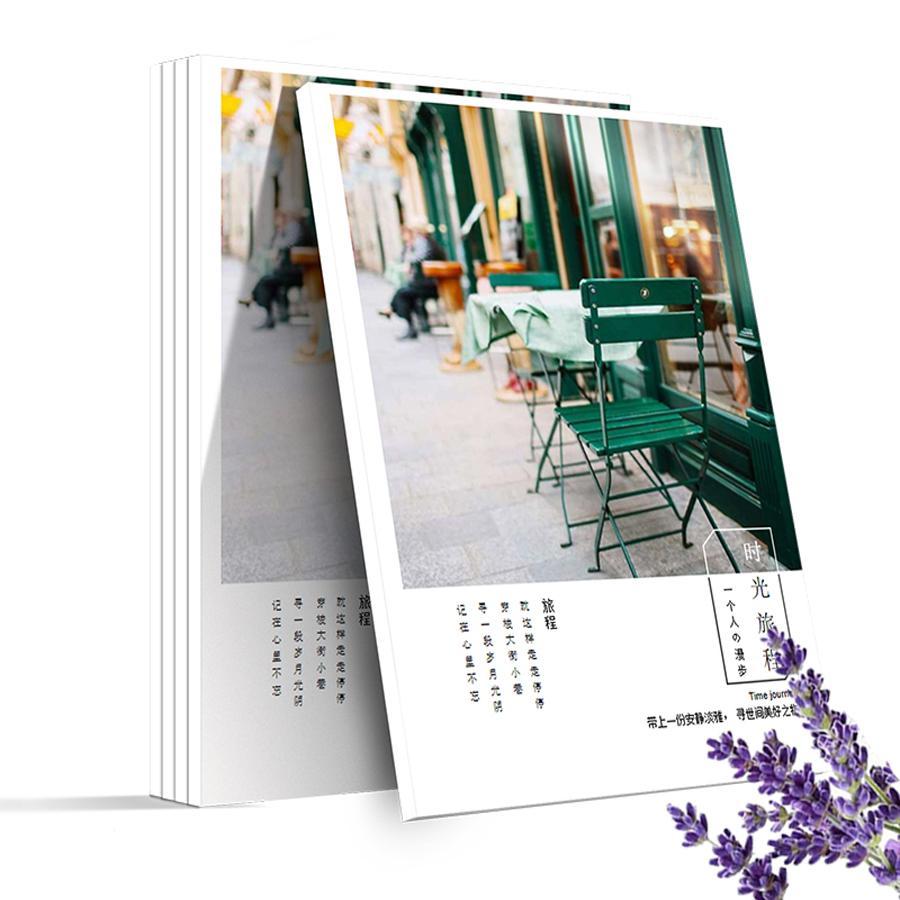 定制旅行纪念册 精致杂志册 旅行相册 旅游纪念册 DIY照片书