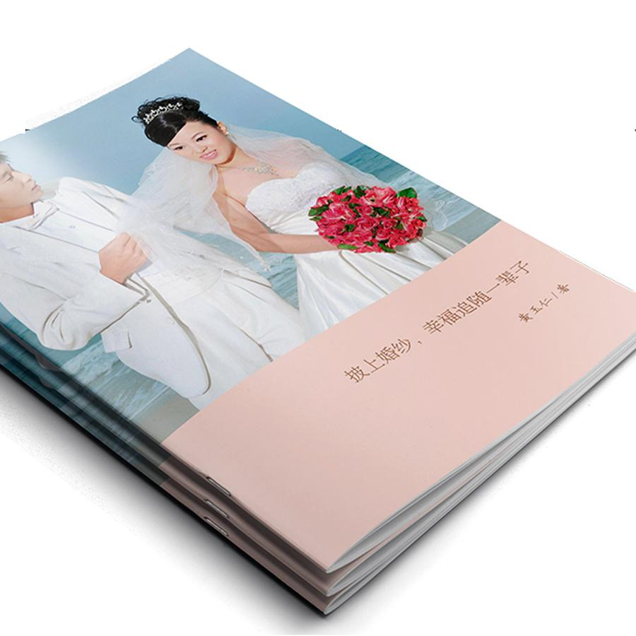 结婚纪念册 婚礼纪念册 经典杂志册